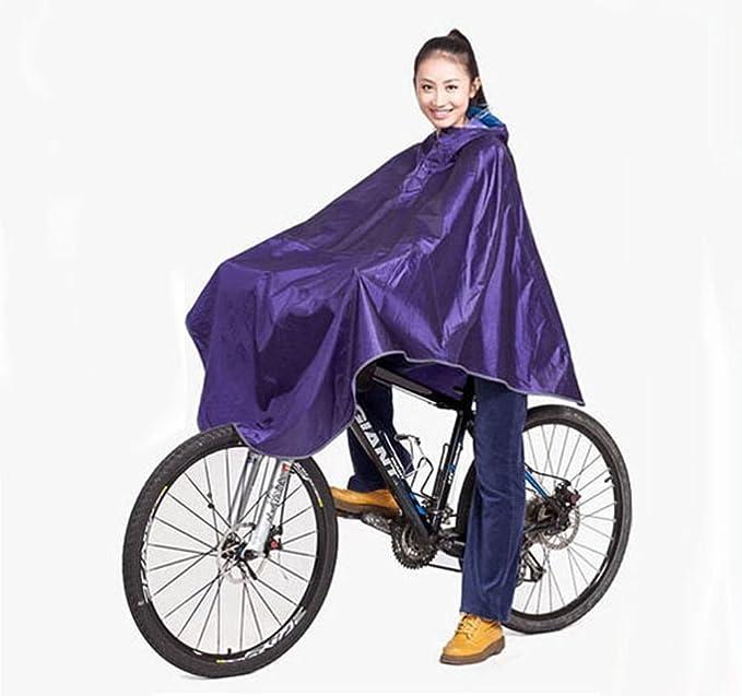 para Bicicleta Chubasquero Poncho de Lluvia con Capucha Resistente al Viento para Hombre Perchero de Pared de Lluvia Cubierta de Scooter para Personas con ...