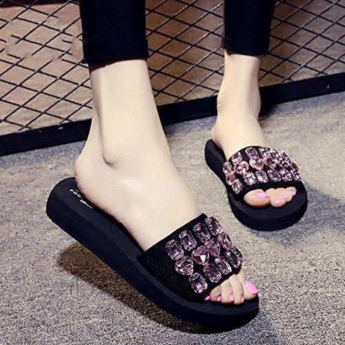colore Molti Dimensioni Donne Shoes Per Colori Beach Estivi Scarpe Da cn39 Casual 7 uk6 Con Sandali Le Femminili Eu39 Donna Pantofole 6 Haizhen xPnzaa