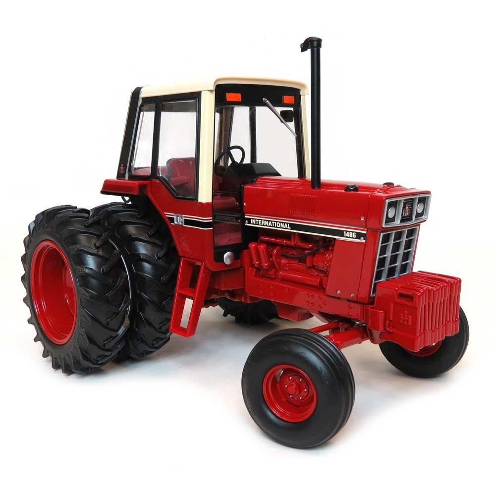 Amazon.com: ERTL 1:16 IH 1486 Tri-Stripe Tractor w/Rear Duals: Toys & Games