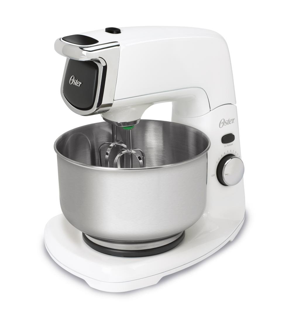 Amazon.com: Oster FPSTSM5101 Die-Cast Stand Mixer, White: Electric ...
