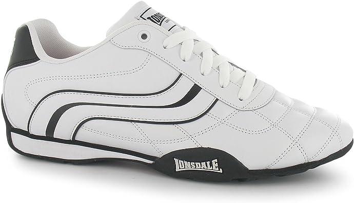 Lonsdale Camden Trainers Mens Black//Black Casual Sneakers Shoes Footwear