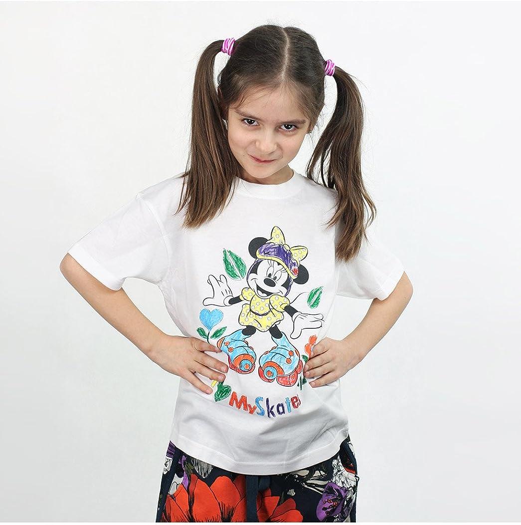 da bambina Matite Disney Maglietta da colorare con Minnie Mouse