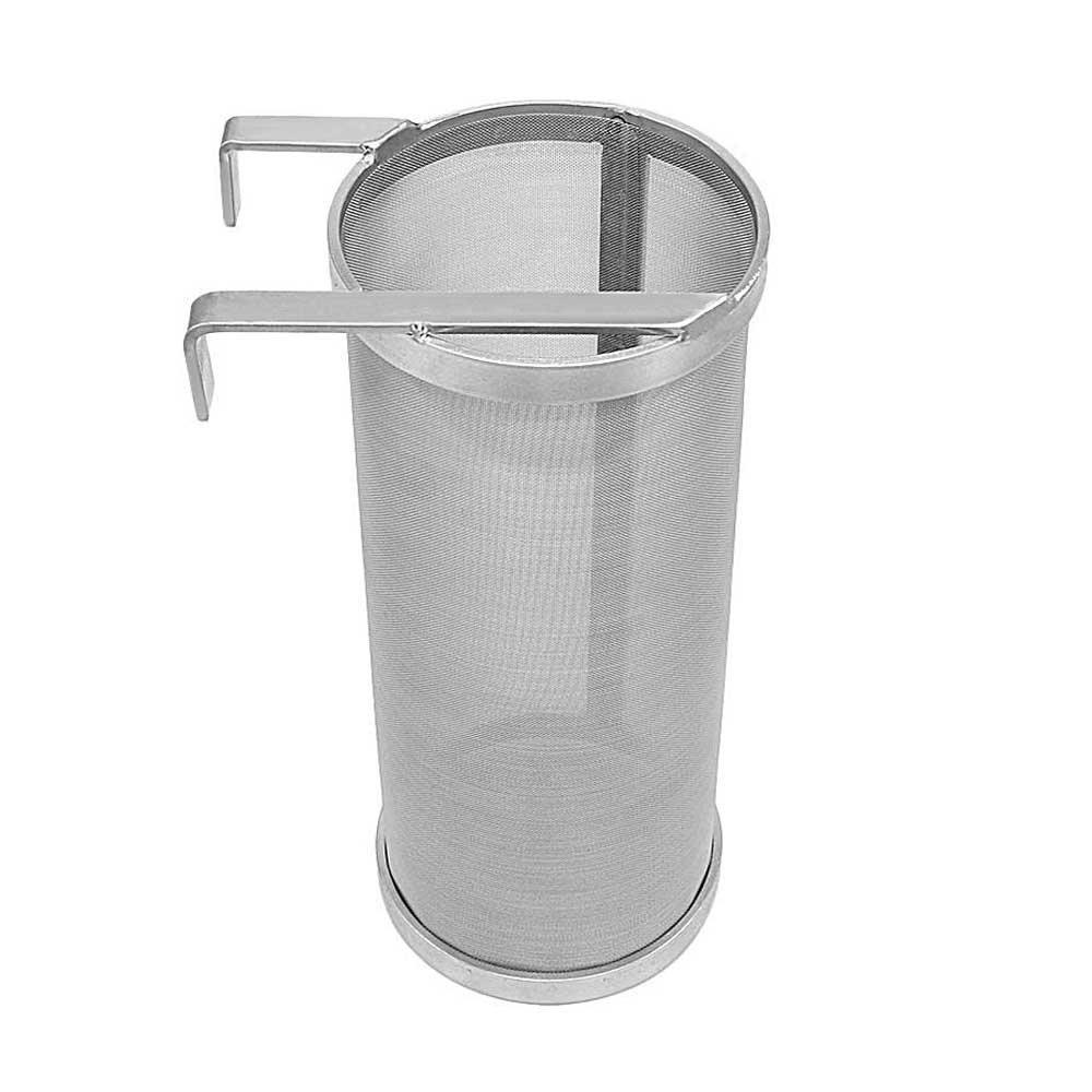 Hop Filter Spider Strainer Stainless steel Beer Mesh Strainer for Home brew Kegging equipment 300 Micron (Filter silver 1)