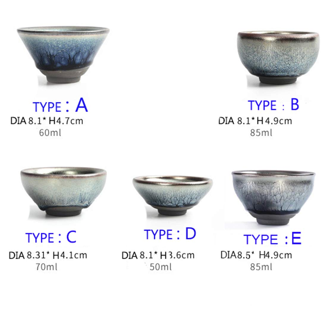 C JianZhan Tenmoku Tea Coffee Cup Bowl Chinese Crafts Mug Designer Collection Ceremony Ancient Style HandWork Made