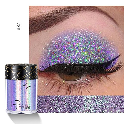 Eyeshadow Palette,Lavany Eye Shadow Palette Powder Single Baked in Metallic Shimmer Colors Optional Eyeshadow,Multi-Function Makeup tools Hot Sale (A)]()