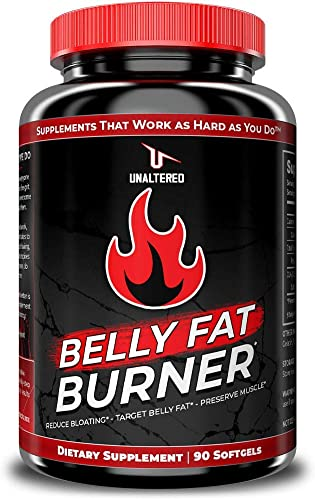 CLA – Belly Fat Pills That Work – Conjugated Linoleic Acid 1000mg Softgels – Slim Stomach Abdominals – Natural Keto Diet Friendly Supplement for Men Women – 30 Servings