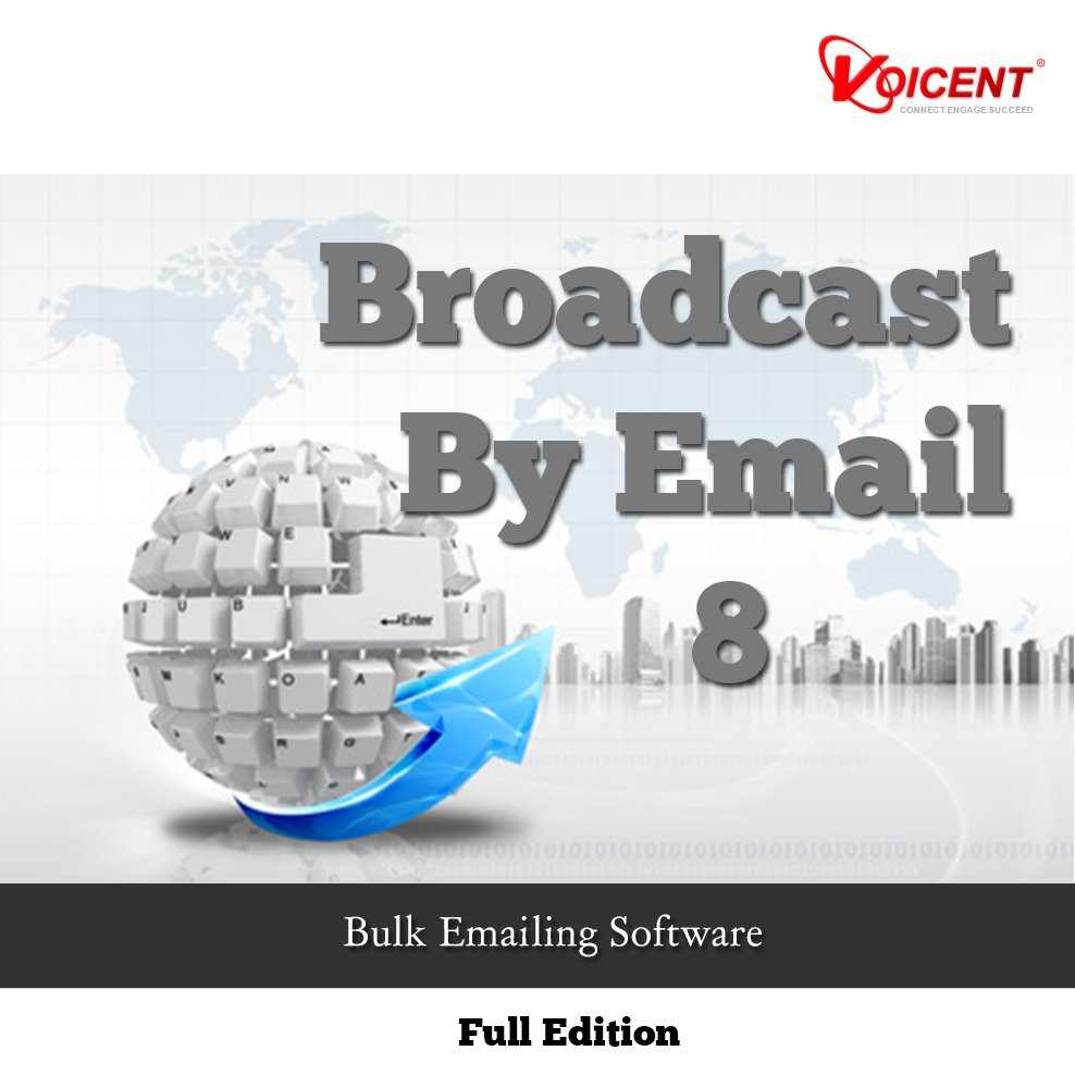 Voicent BroadcastByEmail 8 [Download] by Voicent Communications
