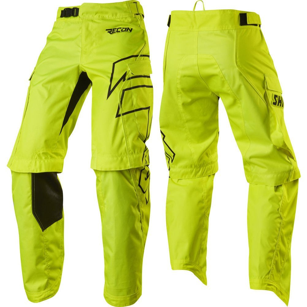 2017 Shift Recon Ride Pants-Flo Yellow-28