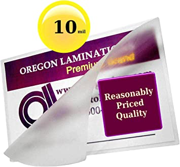 Amazon Com Qty 500 10 Mil 4x6 Photo Laminating Pouches 4 1 4 X 6 1 4 Laminator Sleeves Paper Reinforcements Office Products