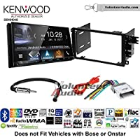 Volunteer Audio Kenwood DDX9904S Double Din Radio Install Kit with Apple CarPlay Android Auto Bluetooth Fits 2003-2005 Chevrolet Blazer, 2003-2006 Silverado, 2003-2006 Suburban