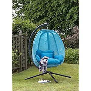 Blue-Cocoon-Hanging-Egg-Chair-Swing-Textilene-Garden-Furniture-In-Or-Outdoor