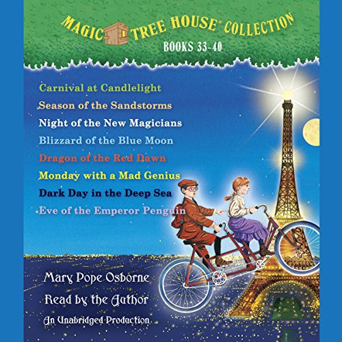 Magic Tree House (R) Merlin Mission Collection: Books 33-40 (The Magic Tree House Audio)