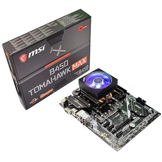 ADMI CPU Placa Madre: AMD Ryzen 3 3200G 4 GHz con gráficos Radeon ...