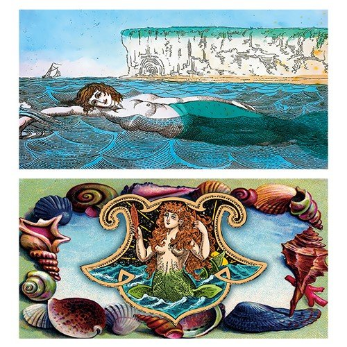 - World Buyers Decorative Matches (Seashell Mermaid)