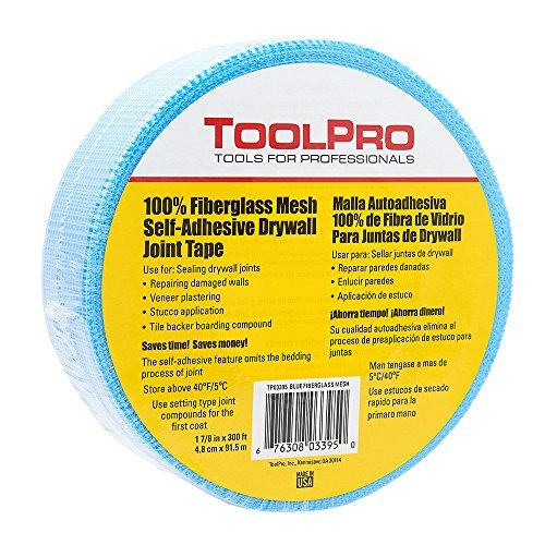 ToolPro Drywall Mesh Tape - Blue 300' Roll by ToolPro (Image #1)