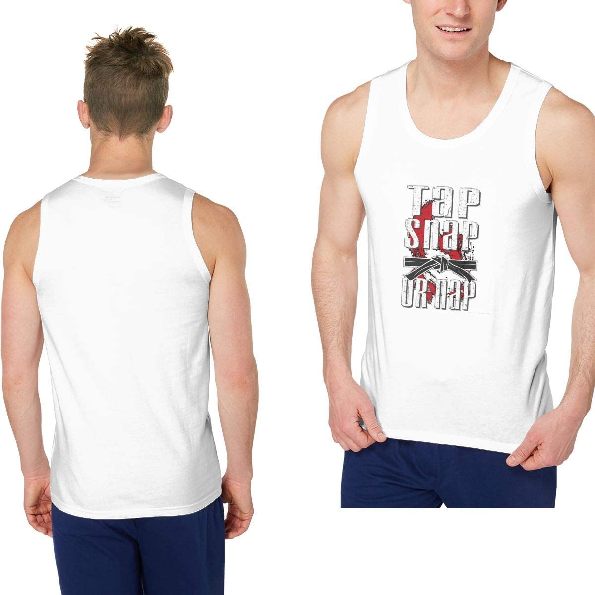 Mens Outdoor Sport This Guy Need A Nap Tank Top Vest T-Shirt Fast Drying Tee