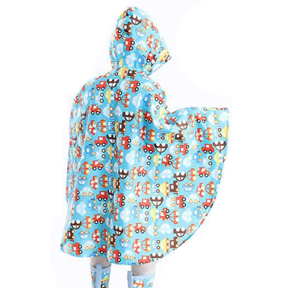 Juleya bambini Grande Cappello Eaves Poncho bambino scherza il ambientale insapore Raincoat 75-145cm
