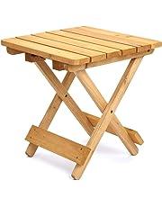 TRUESHOPPING Adirondack Folding Side Table 40.6 cm Square Home or Garden use