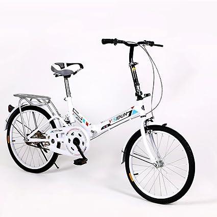 YEARLY Bicicleta Plegable Mujer, Adultos Bicicleta Plegable Las ...