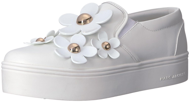 Marc Jacobs Women's Daisy Slip Sneaker B073223KX6 41 M EU (11 US)|White