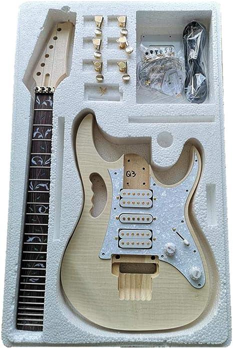Almencla Kits De Guitarra Eléctrica Sin Terminar Para Guitarra ...