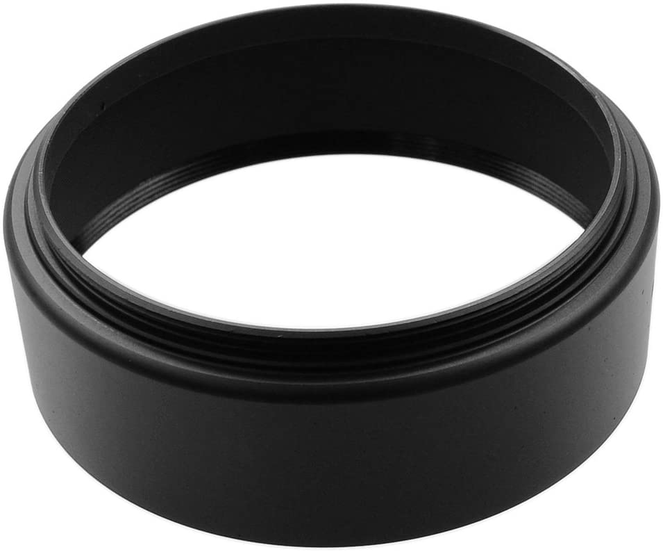 CamDesign 77mm Metal Lens Hood Sun Shade Compatible with Leica//Contax Zeiss//Voigtlander//Panasonic Lumix//Fujifilm//Olympus//Nikon //Canon//Sony//Pentax//Samsung//Sigma// RF Rangefinder Cameras