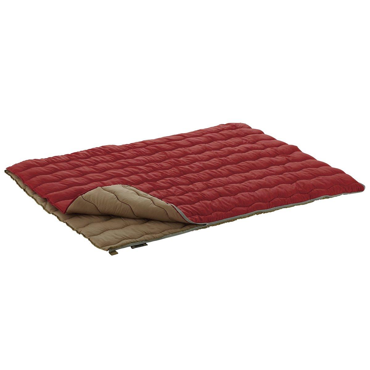 ロゴス 寝袋 2in1・Wサイズ丸洗い寝袋