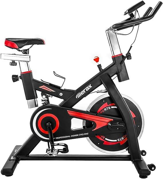 Simply-Me Bicicleta estática de Interior con Monitor Digital ...