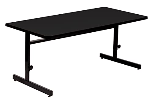 Correll 30 x60 Adjustable Height Training Computer Table