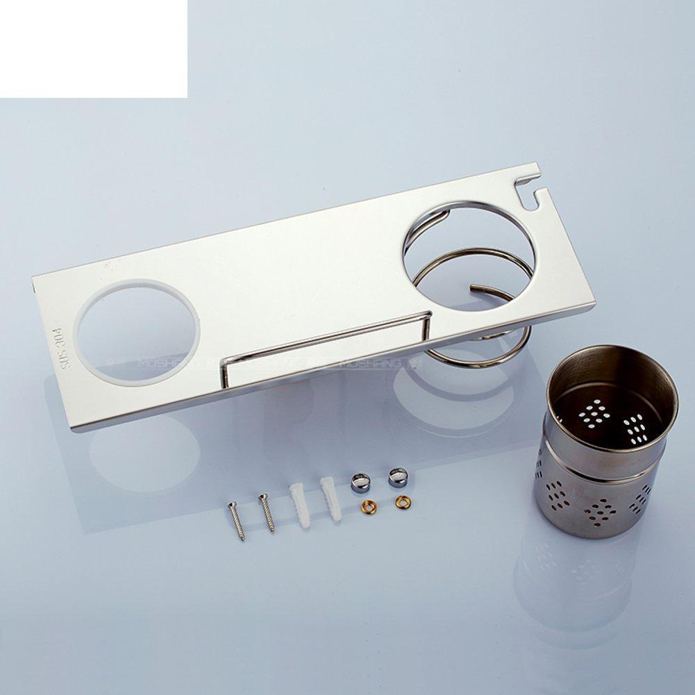 Wall mount hair dryer-bathroom/Stainless steel bathroom hair dryer holder/shelf / wall-mounted hair dryer rack-B AGGGAGGG