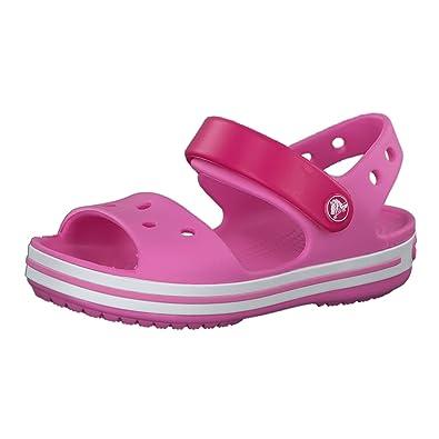 d35432d0c Crocs Crcbnd SdlK Unisex Children s Clogs White Size  2.5 UK-3.5 UK
