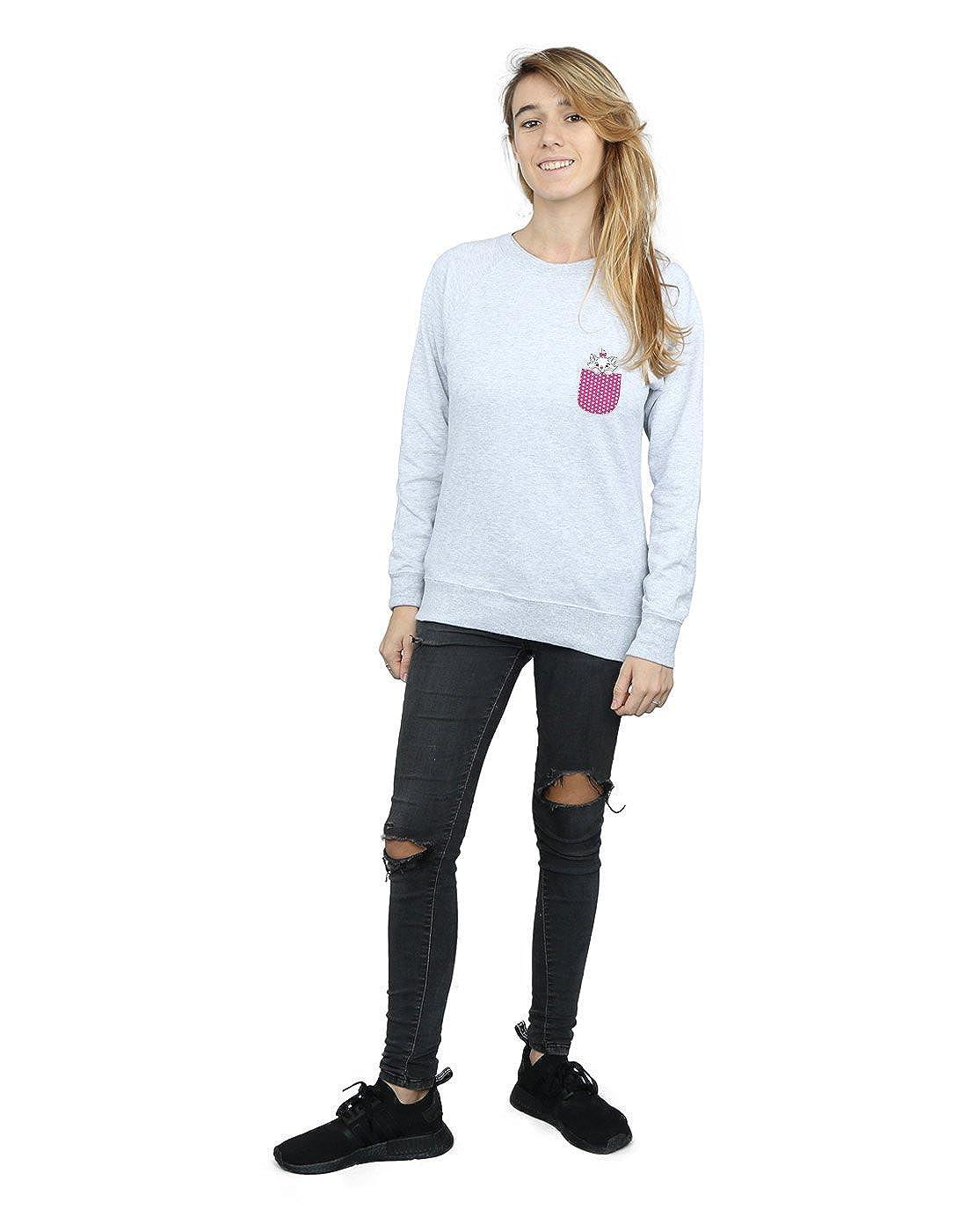 Disney Femme Aristocats Marie Pocket Sweat-Shirt