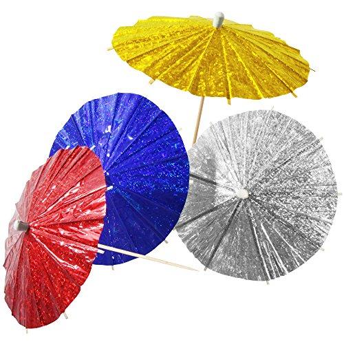 Fackelmann 58615 Buffet Umbrellas Set