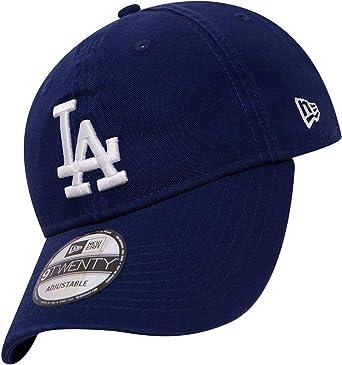0ee94bcb6a3 New Era 9TWENTY MLB Team Unstructured Wash Cap - LA Dodgers One Size   Amazon.co.uk  Clothing