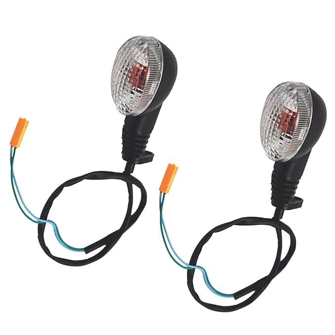 Amazon.com: Kesoto - Luces intermitentes para motocicleta ...