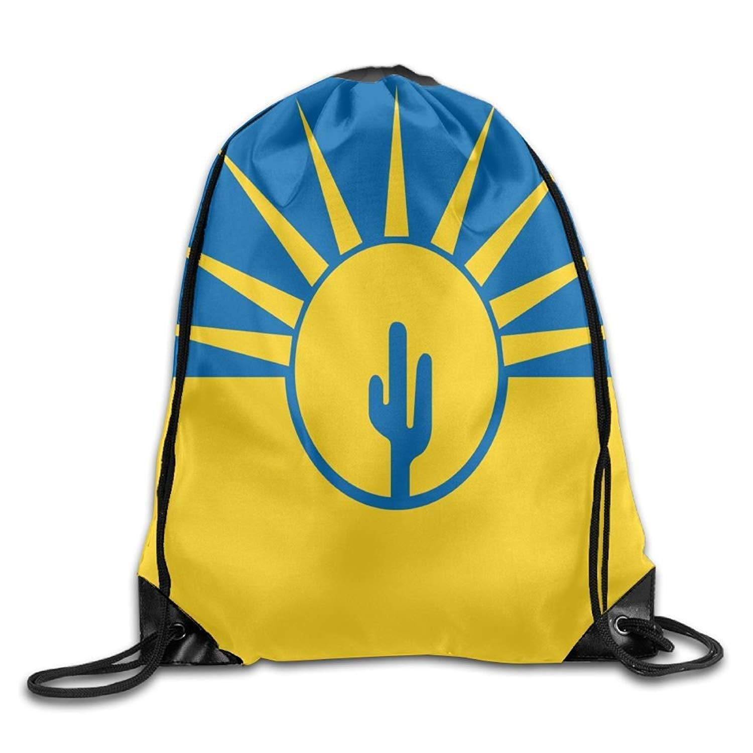 Amazon.com | Flag Of Mesa Arizona Funny Gym Drawstring Bags ...
