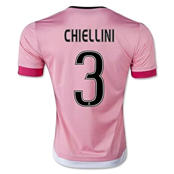 brand new c5636 4177e YGDHM Juventus 3 CHIELLINI Away Soccer Jersey Pink, Jerseys ...