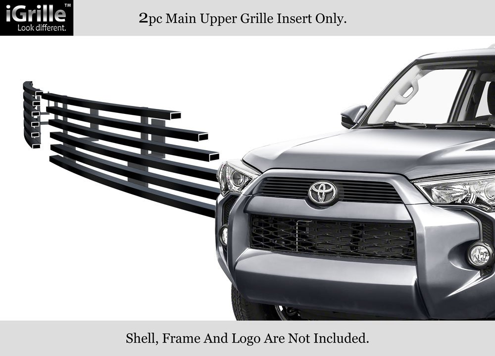 APS Compatible with 2014-2019 Toyota 4Runner Regular Model Black Billet Grille Insert T65977H