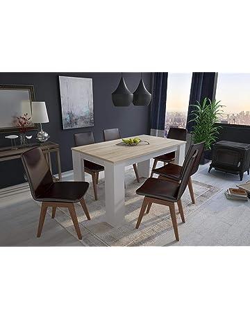 Comfort Home Innovation   Table De Salle à Manger Et Séjour, 140 Cm  Rectangulaire,