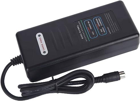 HIEBIKE - Cargador de batería para Bicicleta eléctrica 36V2A ...