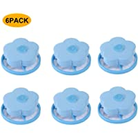 6PC Washing Machine Universal Float, Filter Bag Laundry Ball, Floating Pet Fur Catcher Filtering Hair Removal Device Wool Cleaning Supplies