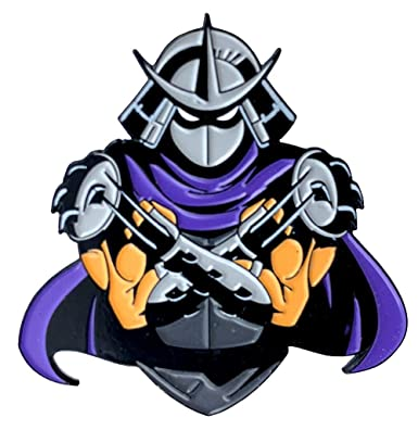 Shadowed Shredder: Teenage Mutant Ninja Turtles Collectible Pin
