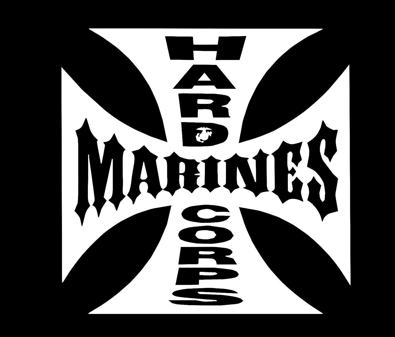 USMC Iron Cross Vinyl Decal Sticker