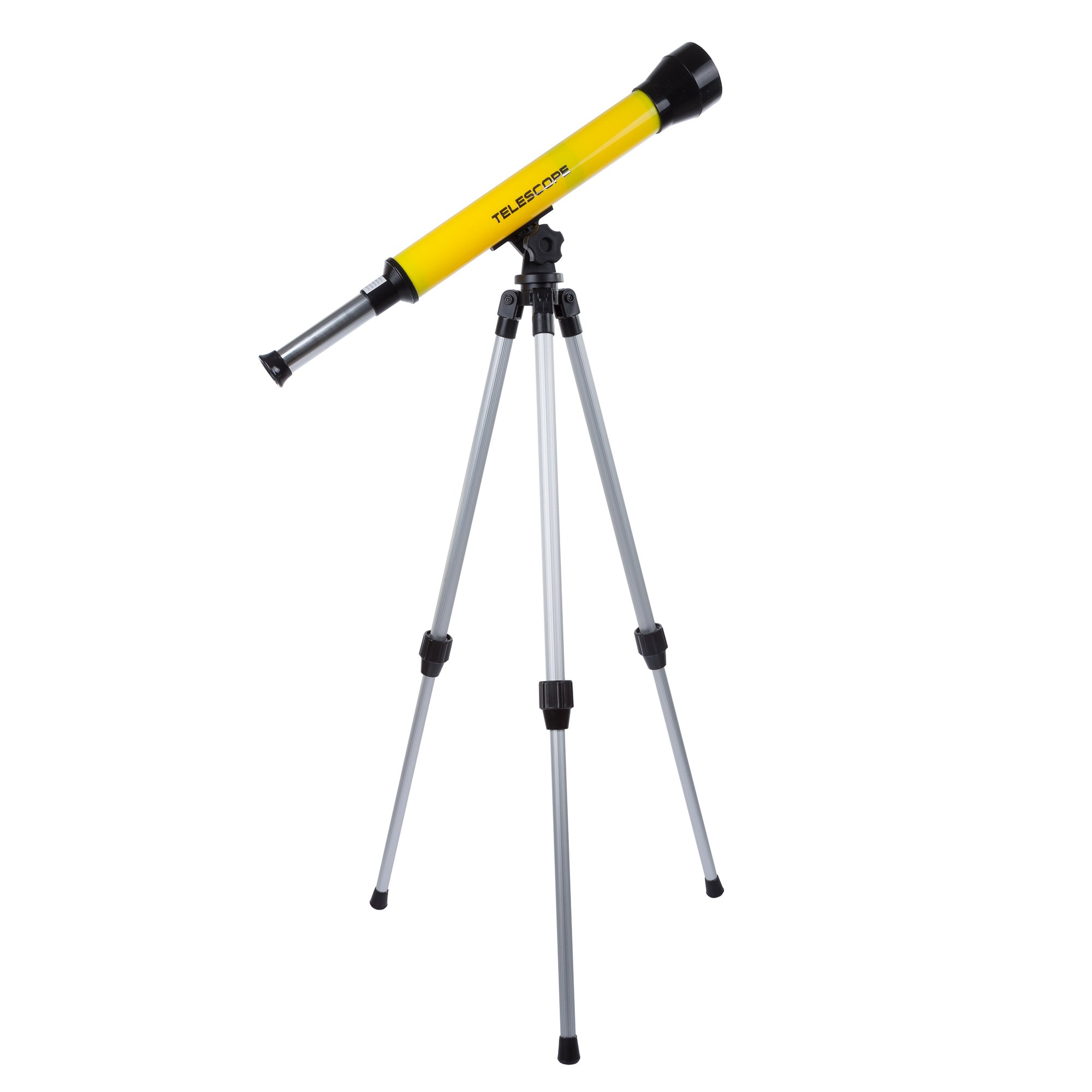 Telescope for Kids with Tripod - 40mm Beginner Telescope with Adjustable Tripod and 30x Magnification for Science, Nature and Astronomy by Hey! Play! by Hey! Play!
