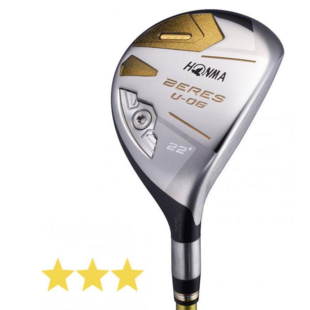 本間ゴルフ ユーティリティ BERES べレス U-06 レディース ユーティリティ ARMRQ X 38 3S シャフト カーボン レディース U06LU3S25 右  ロフト角:25度 U25 フレックス:L B079VS2MLZ