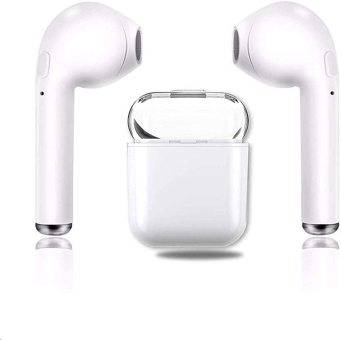 UDADA-1 Bluetooth Headphones 5.0, Wireless Earbuds with Graphene-Enhanced Driver s, 3D Stereo Surround Sound, IPX5 binaural Call, Sports Headphones for iPhone Airpod Airpods Android Apple