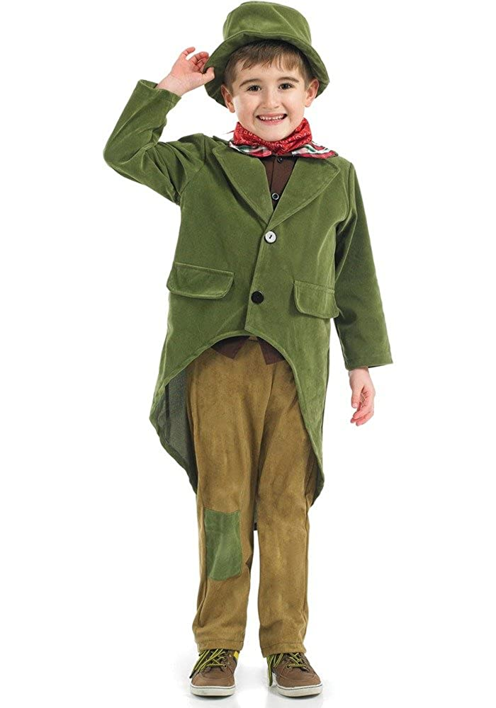 db1c93a2ab3 Boys Rich Victorian Charles Dickens Book Day Fancy Dress Costume Outfit  4-12 years  Amazon.co.uk  Toys   Games
