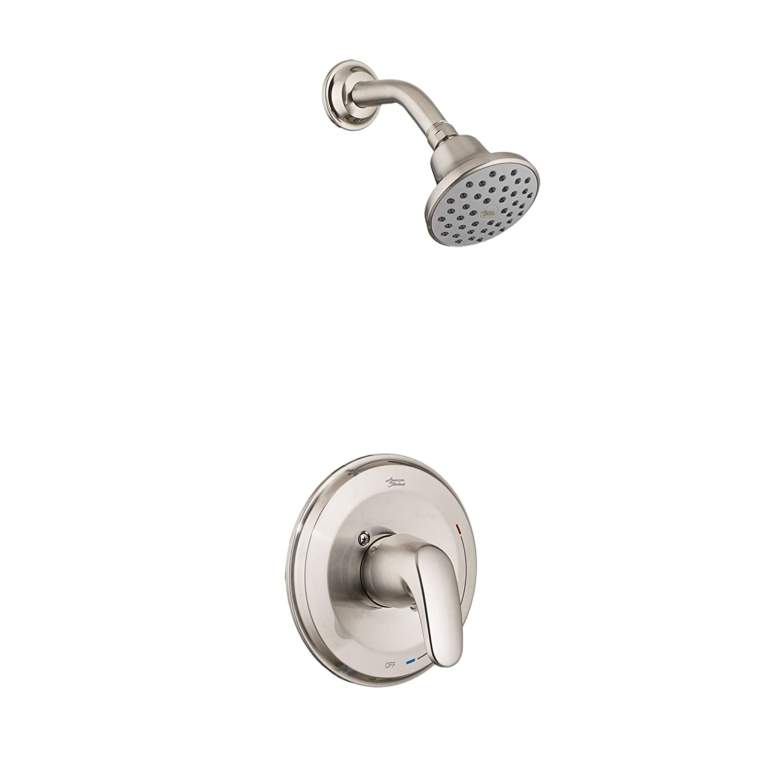A/S T075.507.295 COLONY PRO SHOWER ONLY TRIM KIT, INCLUDES SHOWER HEAD, BRUSHED NICKEL (WITHOUT VALVE BODY) MC370730
