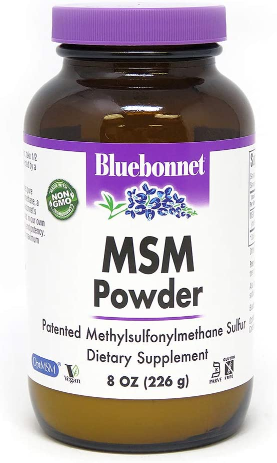 BLUEBONNET Nutrition MSM Powder