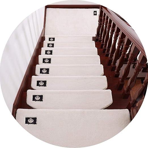 Alfombras de escalera Ropa de alfombras de escaleras 5 PC de auto-adhesivo antideslizante Escalera Mats Mats Las huellas del cojín interior Protección de tapetes, duradero multicolor selección, alfomb: Amazon.es: Hogar